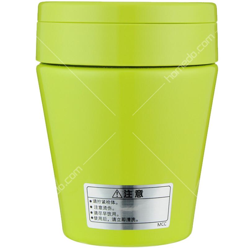 mcc素材囹�a_虎牌tiger不锈钢焖烧杯mcc-b30c-gs苹果绿色