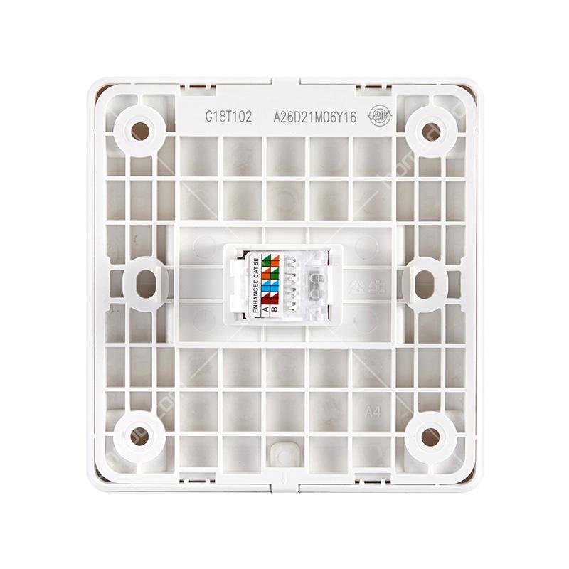公牛(bull) 一位网线面板面板 白色 g18t102介绍及最新报价