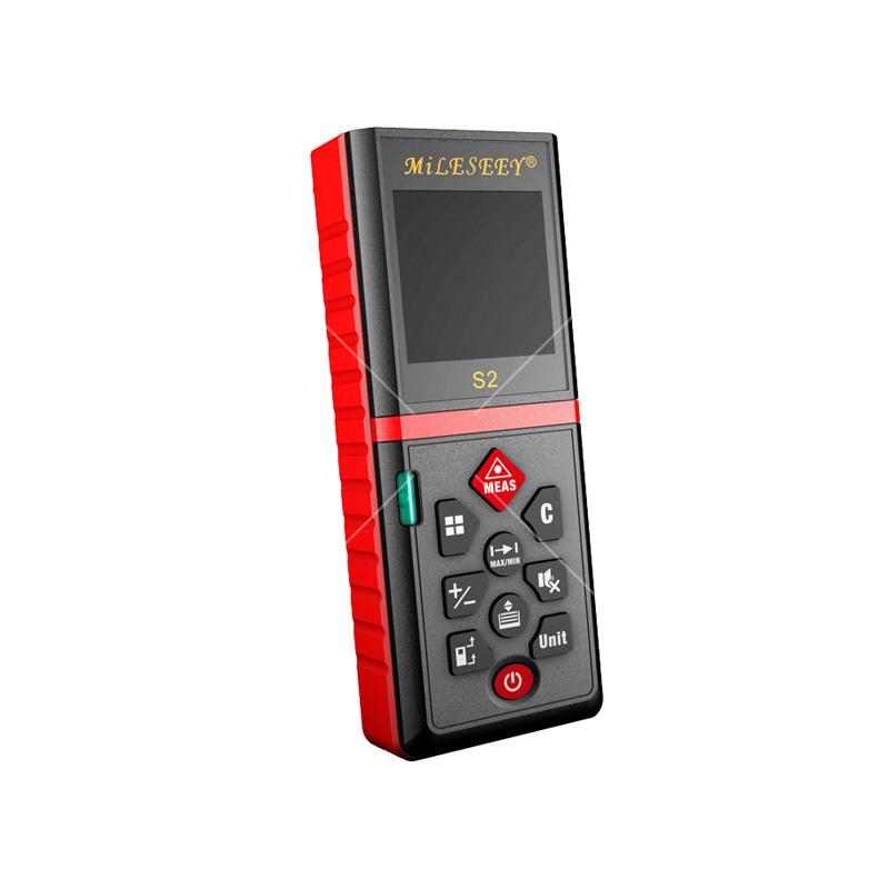 迈测(MileSeey)家装高精度手持式激光测距仪 红外线测量仪 电子尺 S2普<em style='color:red'>通款</em> 100m图片