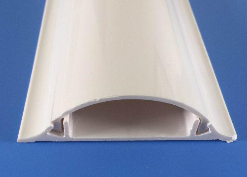 中财(ZHONGCAI PIPES) PVC<em style='color:red'>地槽</em> 70mm*20mm图片