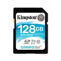 金士顿(Kingston)128GB SD U3 C10 V30读速90MB/s写速 45MB/s
