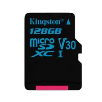 金士顿(Kingston)128GB TF(Micro SD)U3 C10 V30  90MB/s