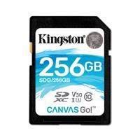 金士顿(Kingston)256GB SD U3 C10 V30读速90MB/s写速 45MB/s